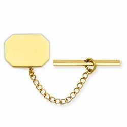 Rectangle  Engraveable  Tie Tack