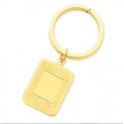 Engraveable Rectangle Key Chain