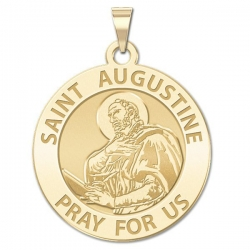 Saint Augustine of Hippo Medal  EXCLUSIVE