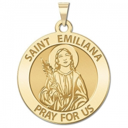 Saint Emiliana Medal   EXCLUSIVE