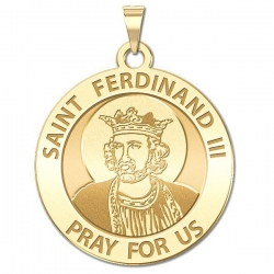 Saint Ferdinand III Medal   EXCLUSIVE