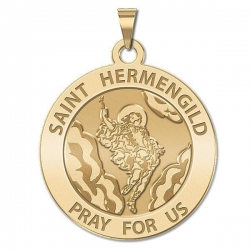 Saint Hermengild Medal   EXCLUSIVE