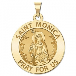 Saint Monica Medal   EXCLUSIVE