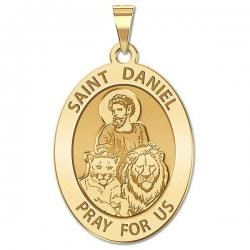 Saint Daniel OVAL Medal   EXCLUSIVE