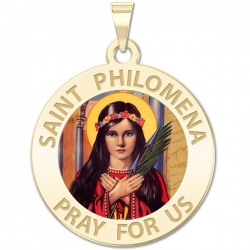 Saint Philomena  Color EXCLUSIVE