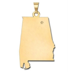 Alabama   Personalized Pendant or Charm