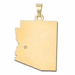 Arizona   Personalized Pendant or Charm