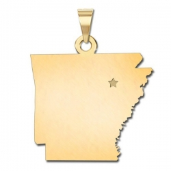 Arkansas   Personalized Pendant or Charm