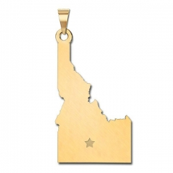 Idaho   Personalized Pendant or Charm
