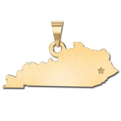 Kentucky    Personalized Pendant or Charm