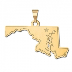 Maryland    Personalized Pendant or Charm