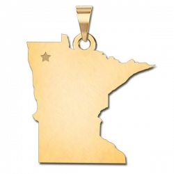 Minnesota   Personalized Pendant or Charm