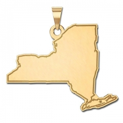 New York State   Personalized Pendant or Charm