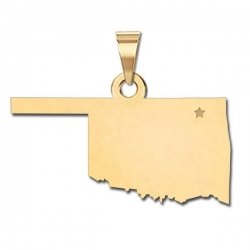 Oklahoma   Personalized Pendant or Charm