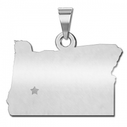 Oregon   Personalized Pendant or Charm