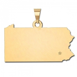 Pennsylvania   Personalized Pendant or Charm