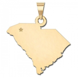 South Carolina   Personalized Pendant or Charm