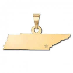 Tennessee   Personalized Pendant or Charm