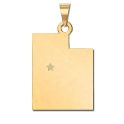Utah   Personalized Pendant or Charm