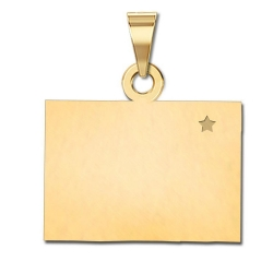 Wyoming   Personalized Pendant or Charm