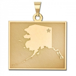 Alaska   Personalized Pendant or Charm