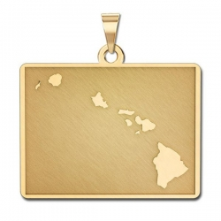 Hawaii   Personalized Pendant or Charm