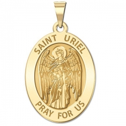 Saint Uriel   Oval Medal  EXCLUSIVE