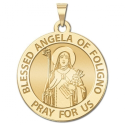 Blessed Angela of Foligno Medal  EXCLUSIVE