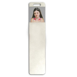 Sterling Silver Photo Engraved Bookmark