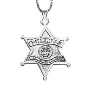 Sheriffs Badge Law Enforcement Jewelry