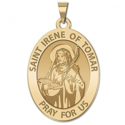 Saint Irene of  Tomar OVAL Medal   EXCLUSIVE