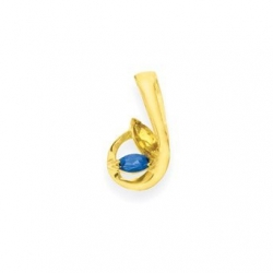 Gold 2 Marquise Stone Mother s Pendant Jewelry