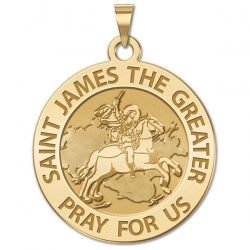 Saint James the Greater Medal  EXCLUSIVE