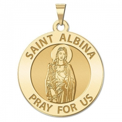 Saint Albina Medal  EXCLUSIVE