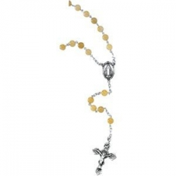 YELLOW JADE ROSARY