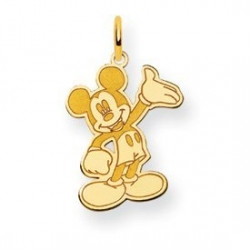 Disney Waving Mickey Mouse Charm