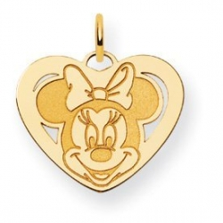 Disney Minnie Mouse Medium Heart Charm