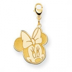 Disney Minnie Mouse Medium Lobster Clasp Charm