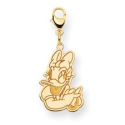 Disney Daisy Duck Medium Lobster Clasp Charm