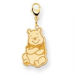 Disney Winnie the Pooh Lobster Clasp Medium Charm