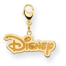 Disney Medium Logo Lobster Clasp Charm