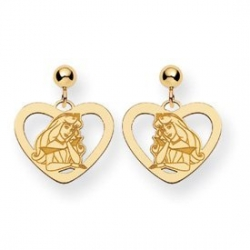 Disney Princess Aurora Dangle Post Earrings