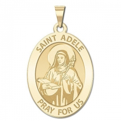 Saint Adele Oval Medal    EXCLUSIVE