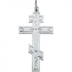 Sterling Silver ST  ANDREWS CROSS