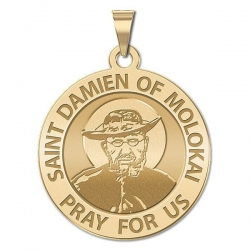Saint Damien of Molokai Medal   EXCLUSIVE