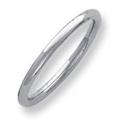 Palladium Heavy Weight 2 5mm Comfort Fit Wedding Band