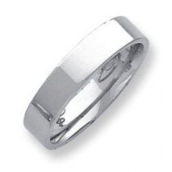 Palladium Flat 5mm Wedding Band