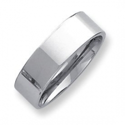 Palladium Flat 7mm Wedding Band