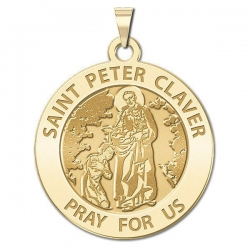 Saint Peter Claver Medal  EXCLUSIVE