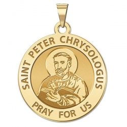 Saint Peter Chrysologus Medal  EXCLUSIVE